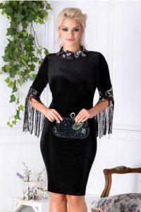 Rochie Leonard Collection neagra