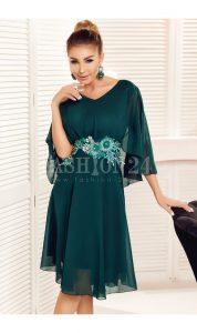 Rochie eleganta Liana verde