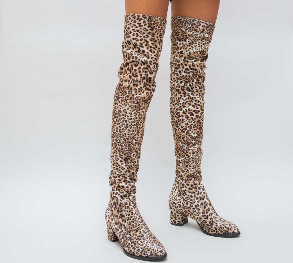 Cizme Elgard Leopard