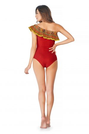 Costum de baie Cosita Linda rosu de lux